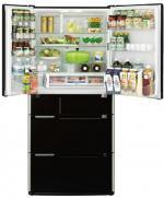 Холодильник Hitachi R-E 6800 U XK (537 л, вакуумн.отделение,NoFrost,защита от бактерий,л-генератор)