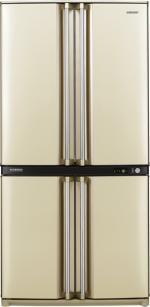 Холодильник Sharp SJ-F95STBE (общий объем 605л, приготовление льда, зона свежести)