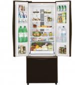 Холодильник Hitachi R-WB 552 PU2 GGR (510 л, сенс. диспл, звук. датчики,  дв-ной обдув вентилятором)